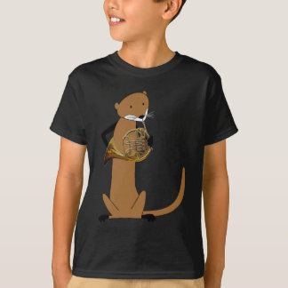 Otter Playing the French Horn T-Shirt