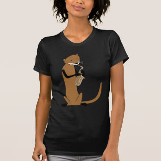 Otter Playing the Saxophone T-Shirt