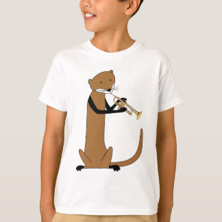 Otter Playing the Trumpet T-Shirt