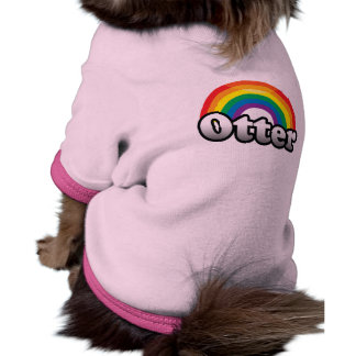 OTTER PRIDE -.png Dog T Shirt