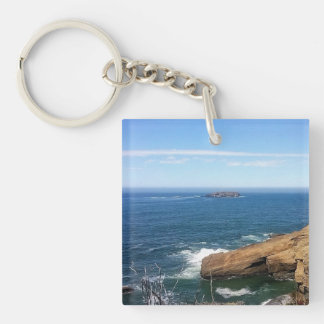 Otter Rock Key Ring