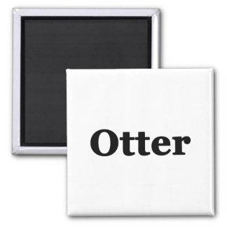 Otter Square Magnet