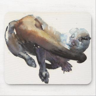 Otter Study I - 'Talisker' Mouse Pad