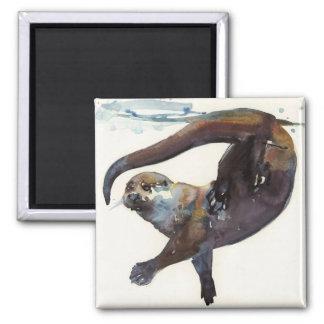 Otter Study II -'Talisker' Magnet