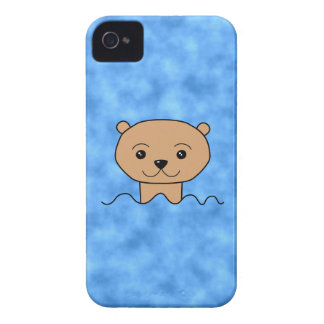Otter Swimming. Case-Mate iPhone 4 Cases