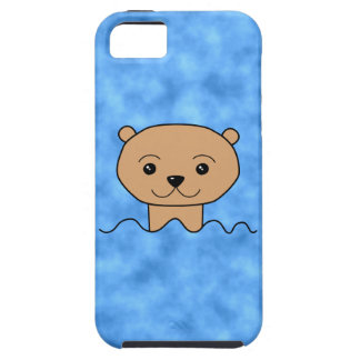 Otter Swimming. Tough iPhone 5 Case