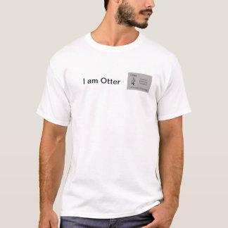 Otter Totem American Aboriginal Horoscope T-Shirt