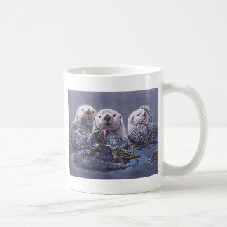 Otter Trio Coffee Mug