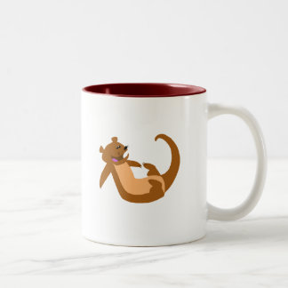 Otter Two-Tone Coffee Mug