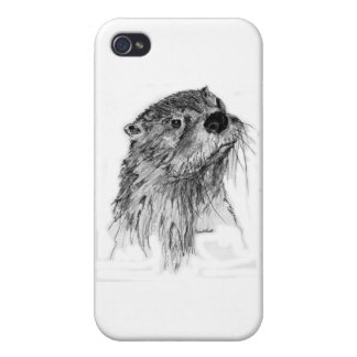 Otter Whiskers Covers For iPhone 4