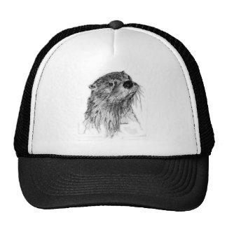 Otter Whiskers Trucker Hat