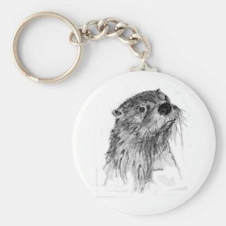 Otter Whiskers Key Ring