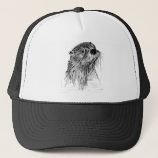 Otter Whiskers Trucker Hat