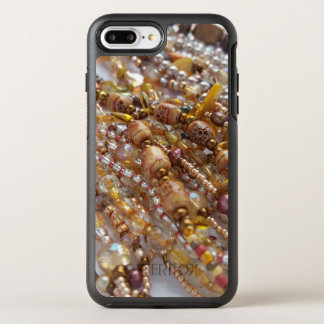 Otterbox Apple Iphone 7 Case- Earthtone Bead Print