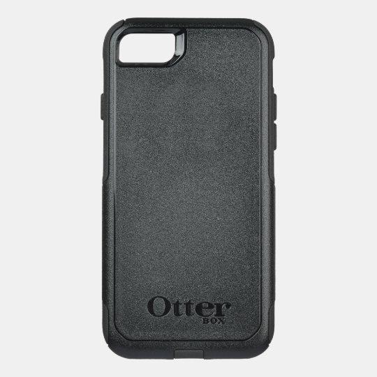 Custom OtterBox Apple iPhone 8/7 Commuter Series Case, Black