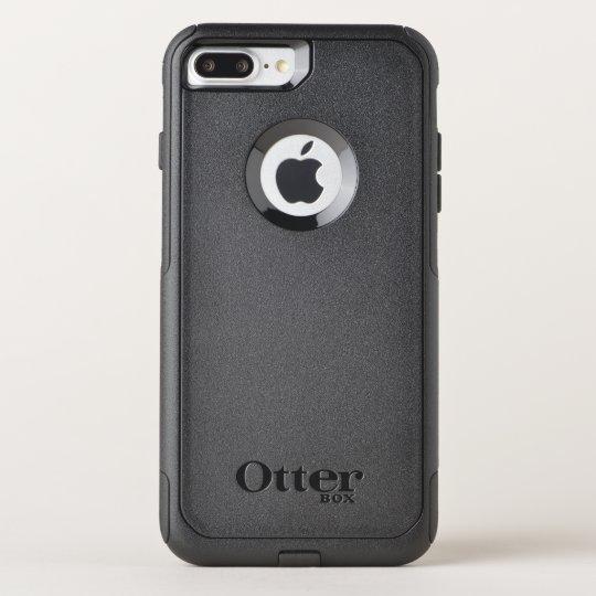 Custom OtterBox Apple iPhone 8 Plus/7 Plus Commuter Series Case, Black