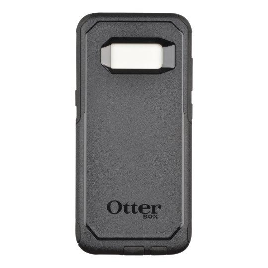 Custom OtterBox Samsung Galaxy S8 Commuter Series Case, Black