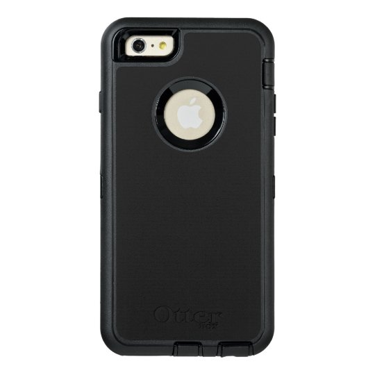 Custom OtterBox Apple iPhone 6 Plus Defender Series Case, Black