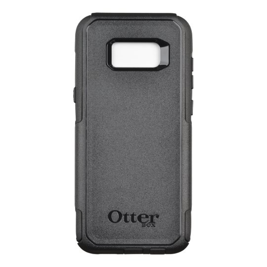 Custom OtterBox Samsung Galaxy S8+ Commuter Series Case, Black