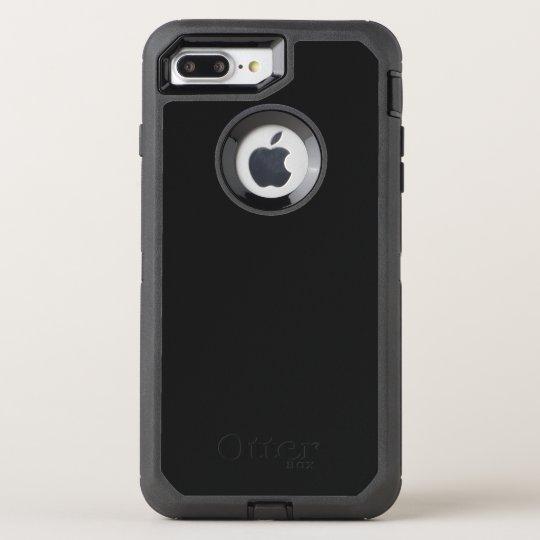Custom OtterBox Apple iPhone 8 Plus/7 Plus Defender Series Case, Black