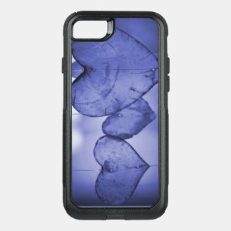 Otterbox phone case blue hearts