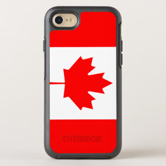 Otterbox proud Canada flag Canadian phone OtterBox Symmetry iPhone 7 Case