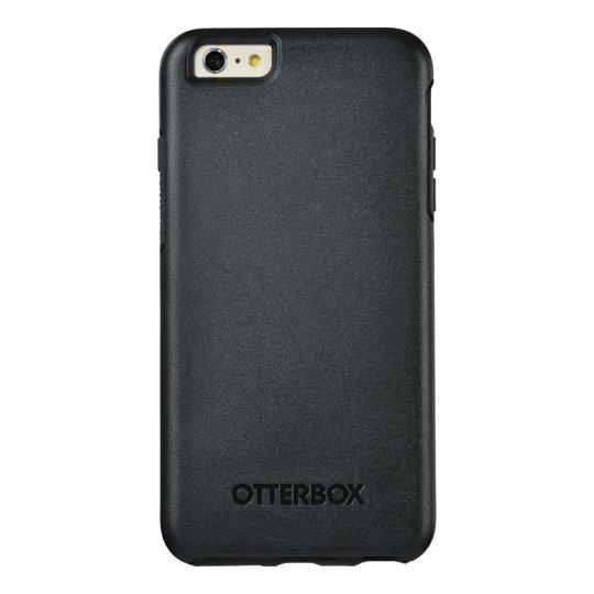 Custom OtterBox Apple iPhone 6 Plus Symmetry Series Case, Black