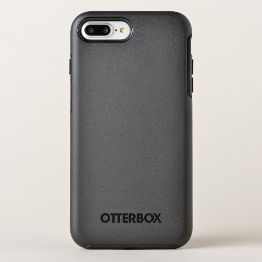 Custom OtterBox Apple iPhone 8 Plus/7 Plus Symmetry Series Case, Black