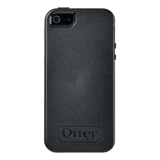 Custom OtterBox Apple iPhone SE/5/5s Symmetry Series Case, Black