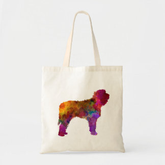 Otterhound in watercolor tote bag