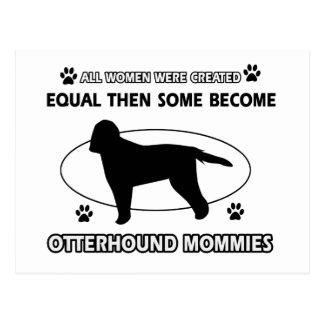 Otterhound Mommy Designs Postcard