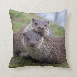 Otterly in Love Pillow