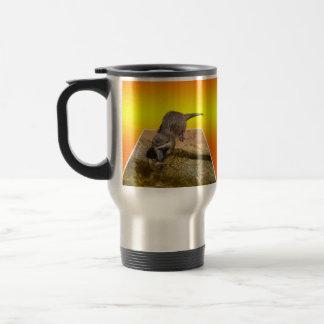 Otterly Orange, Otter, Travel Commuter Mug