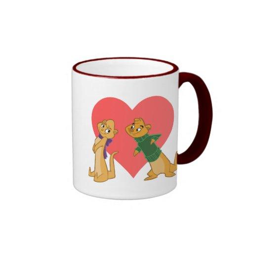 Otters in Love Mug
