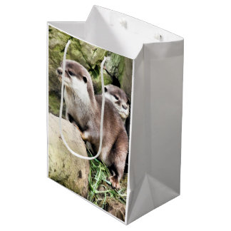 OTTERS MEDIUM GIFT BAG