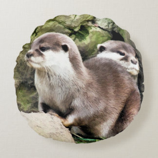 OTTERS ROUND CUSHION