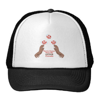 Otters_You re_Cooler_Than_My_Otter_Friends Hat