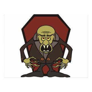 Otto Vampyr, other vampire Postcard