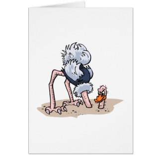 Otto von Ostrich Card