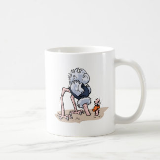 Otto von Ostrich Coffee Mug