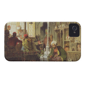 Ottoman Coffee House, 1862 (colour litho) iPhone 4 Case-Mate Case