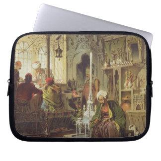 Ottoman Coffee House, 1862 (colour litho) Laptop Sleeve