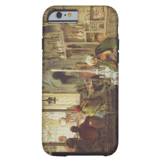 Ottoman Coffee House, 1862 (colour litho) Tough iPhone 6 Case