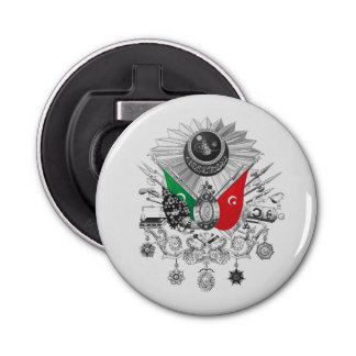 Ottoman Empire Grayscale Coat Of Arms Bottle Opener