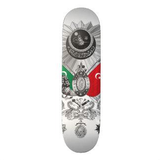 Ottoman Empire Grayscale Coat Of Arms Custom Skate Board