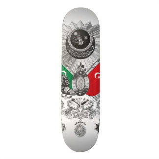 Ottoman Empire Grayscale Coat Of Arms Skate Deck
