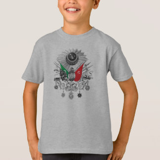 Ottoman Empire Grayscale Coat Of Arms T-Shirt