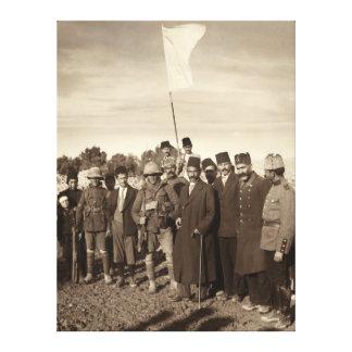 Ottoman Empire Surrender of Jerusalem 1917 Stretched Canvas Prints