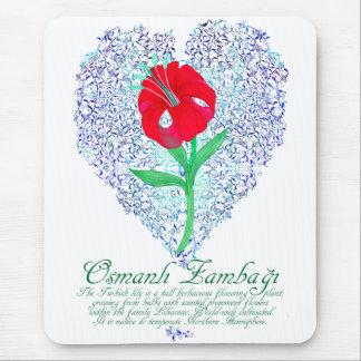 Ottoman Lily Mouse Pad