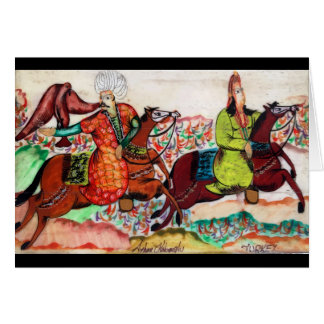 Ottoman Noble Greeting Card